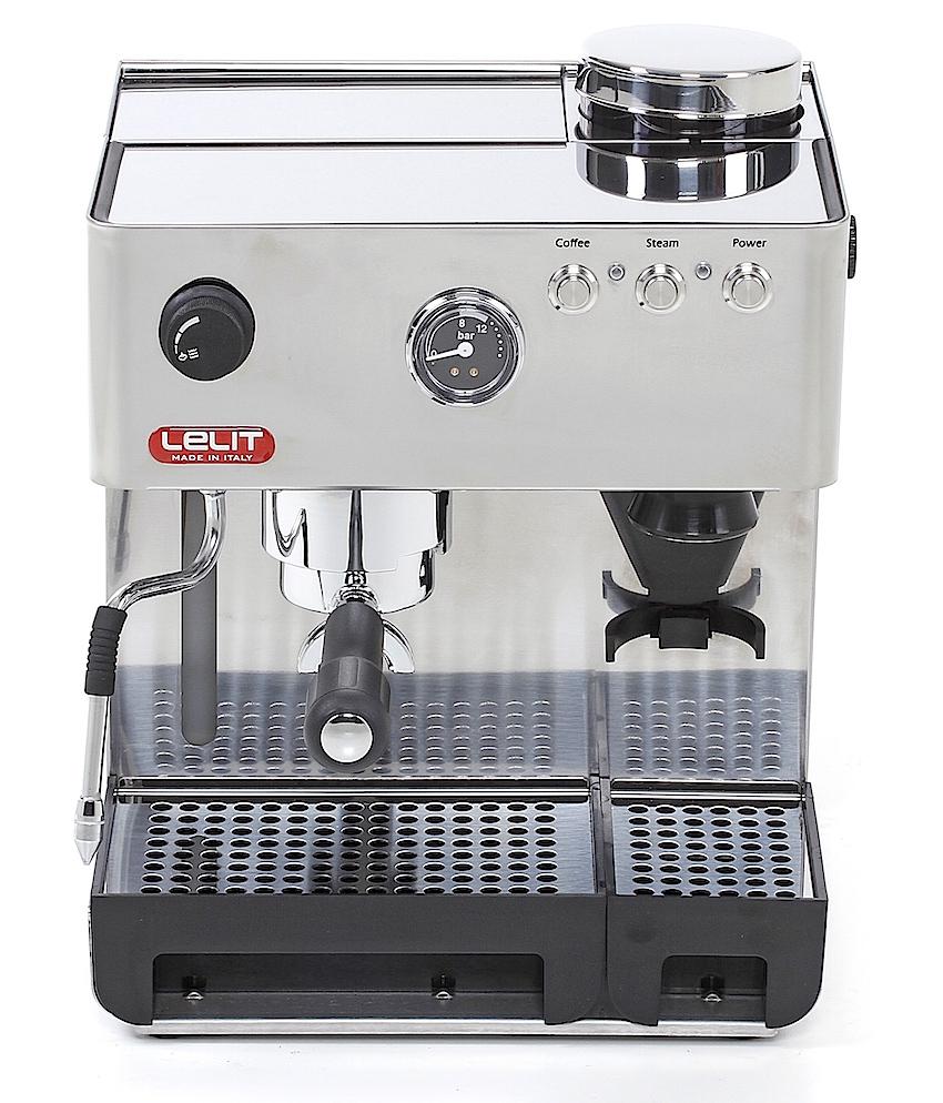 lelit pl 42emi espressomaschine mit eingebauter m hle. Black Bedroom Furniture Sets. Home Design Ideas